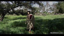 Barbarian tribal woman