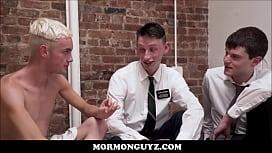Blonde Mormon Twink Has...