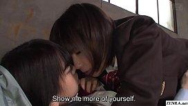 JAV lesbian schoolgirls CFNF...