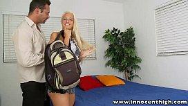 InnocentHigh Schoolgirl blonde teen  ...