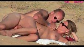 Horny amateur couple having...