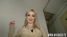 Blonde Romanian Bombshell Sexy...