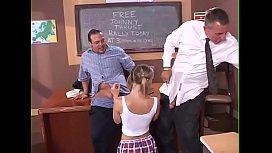 Schoolgirl gets fuck by...