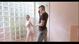 Stepsiblings Secretly Fuck Eachother In Bathroom on hott9.com