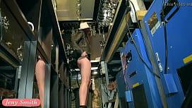 Jeny Smith naked barmaid...
