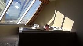 Cute teen 18yo asian: hot-tub tease machine