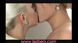 Lesbea Tight teens get...