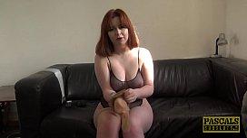 Redhead subslut Kitty Misfit roughed up by Pascals huge dick natsuko kurosawa