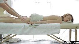 Massage therapist gets a...