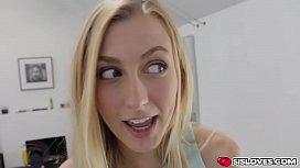 Sweetie blonde babe Alexa...