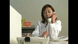 Asian Office Slut...