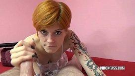 Redhead hottie Ava Little...