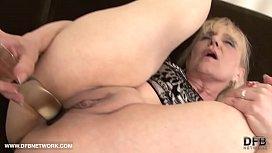 Granny hardcore interracial anal...