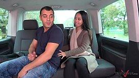 Thai massage in driving...
