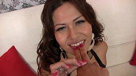 Ecuadorian girl in her...