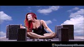 Giantess Ivy Adams destroys...