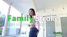 Horny Sister and Bro POV Action: FamilyStroke.net