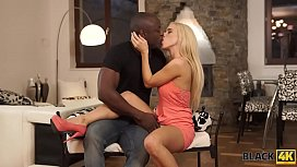 BLACK4K. Young interracial couple...