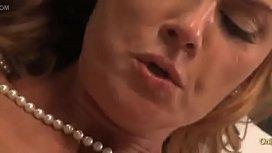 Busty Cougar Janet Mason...