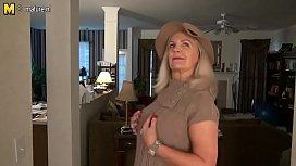 Naughty American mature mom with hot sexy body Judy Mayflower