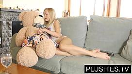 Blonde model Sicilia and...