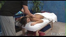Massage cheerful end...