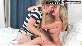 Big tits blonde Brandi...