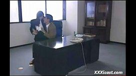 Rough Asian Office Sex...