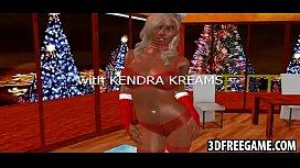Hot slutty 3D woman...