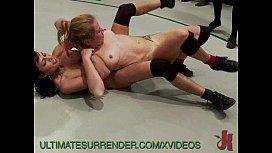 Naked Wrestling Chicks Get...