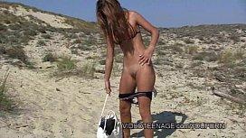 Sexy teen nudist at...