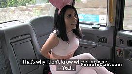 Busty lesbian female cab...