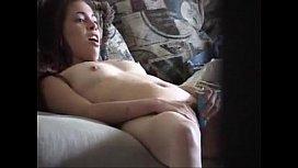 Teen Caught masturbating - more at facesittingmadness.com