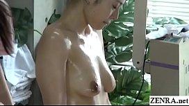 JAV CFNF lesbian massage...