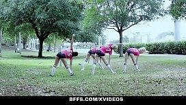 BFFS - Horny Soccer Girls...