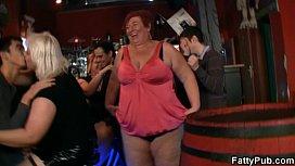 Fat chicks have fun...