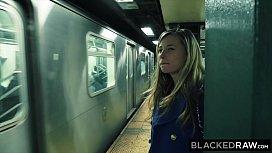 BLACKEDRAW Small blonde teen...