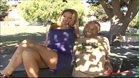 Husband sit watching wife...