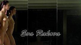 Eva super hot flexible teen