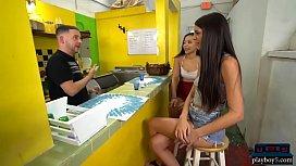 Juice bar visit of...