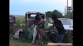 African babe ebony pussy...