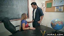 Huge tits teacher Tegan...