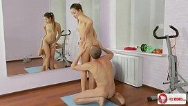 Russian Teen Taissia Fitness...