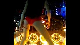 Sexy Thai Girl Red Panties Dance