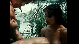 Jungle Man retro movie...