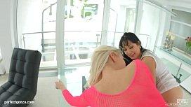 Creampie scene with Rozalina...