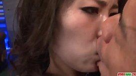 Kyouko Maki screams with...