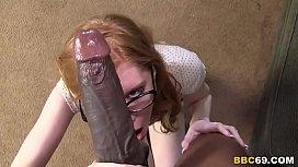 Redhead April Turner Takes...