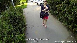 Fucking Glasses - Outdoor fuck...