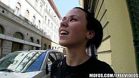 Natural Czech girl is...